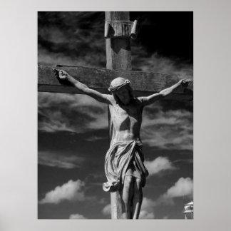 Jesús en la cruz impresiones
