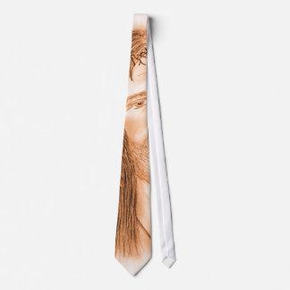 Jesús en la luz corbatas personalizadas