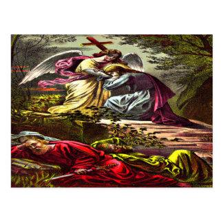 Jesús en la postal de Gethsemane