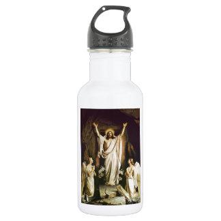 Jesús en la tumba abierta