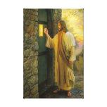 Jesús en su lona envuelta puerta lona envuelta para galerías