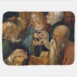 Jesús entre los doctores de Albrecht Durer Manta De Bebé