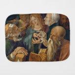 Jesús entre los doctores de Albrecht Durer Paños De Bebé