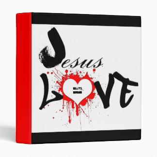 jeSUS equals love bINDER