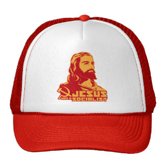 Jesús era un socialista gorros bordados
