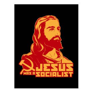 Jesús era un socialista tarjetas postales
