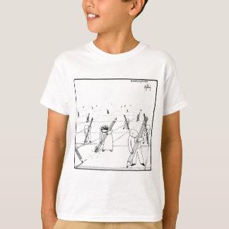 Jesus Erases Lines T-Shirt