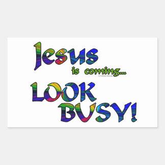 Jesús es… 2 que vienen rectangular altavoz