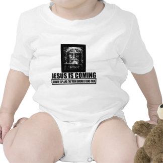 Jesús es ateo que viene traje de bebé