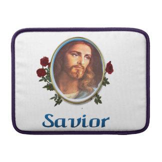 Jesús es el salvador fundas macbook air