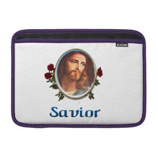 Jesús es el salvador funda  MacBook
