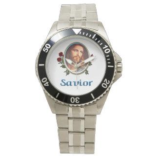Jesús es el salvador relojes