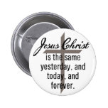 Jesús es igual para siempre pin