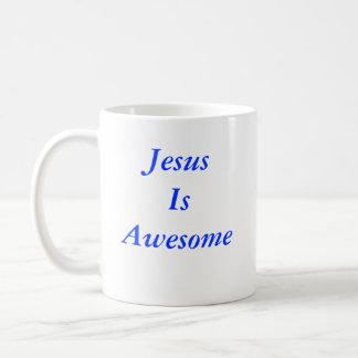 Jesús es impresionante taza clásica