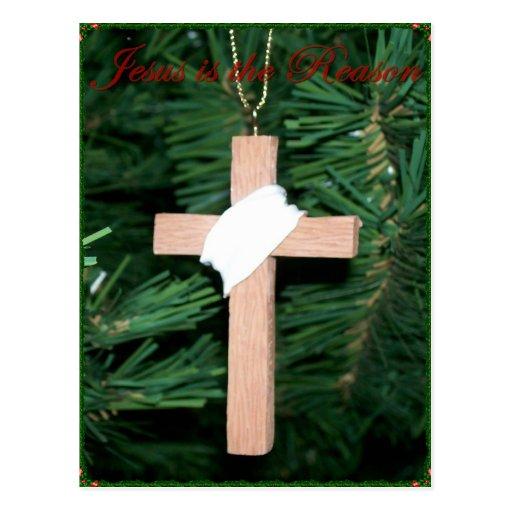 Jesús es la cruz de la razón postal