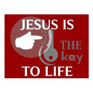JESÚS ES LA LLAVE A LA VIDA POSTAL