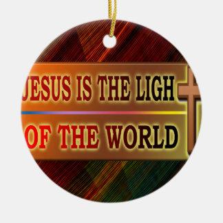 JESÚS ES LA LUZ ADORNOS