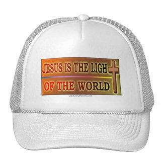 JESÚS ES LA LUZ GORRO