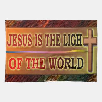 JESÚS ES LA LUZ TOALLA