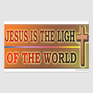 JESÚS ES LA LUZ PEGATINAS