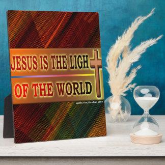 JESÚS ES LA LUZ PLACAS