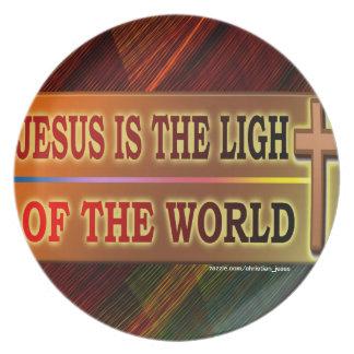 JESÚS ES LA LUZ PLATO