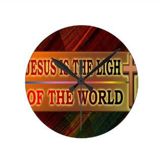 JESÚS ES LA LUZ RELOJES