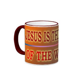 JESÚS ES LA LUZ TAZAS DE CAFÉ