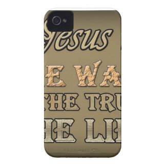 Jesús es la manera iPhone 4 Case-Mate carcasa