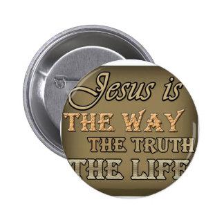 Jesús es la manera pins