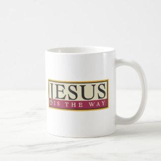 Jesús es la manera taza