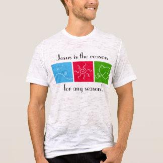 Jesús es la razón de cualquier camiseta de la