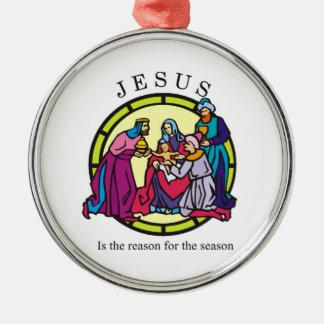 Jesús es la razón de la estación adorno para reyes