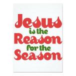 Jesús es la razón de la estación anuncio