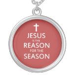Jesús es la razón de la estación colgante redondo