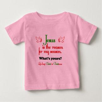 Jesús es la razón de la estación t-shirt