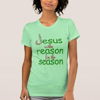 Jesús es la razón de la estación tee shirts