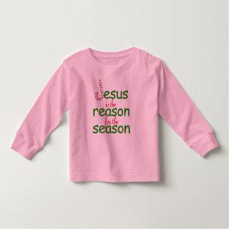Jesús es la razón de la estación tshirt
