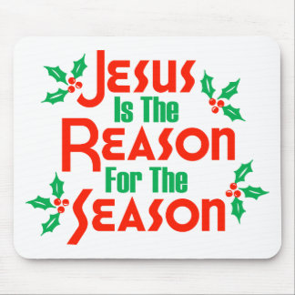 Jesús es la razón de la estación alfombrillas de raton