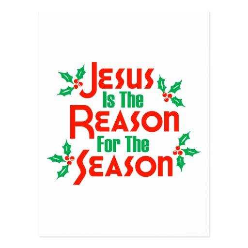 Jesús es la razón de la estación postal