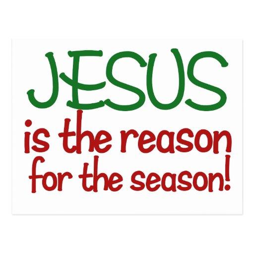 Jesús es la razón de la estación postales