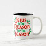 Jesús es la razón de la estación taza