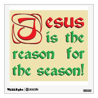 Jesús es la razón de la estación vinilo