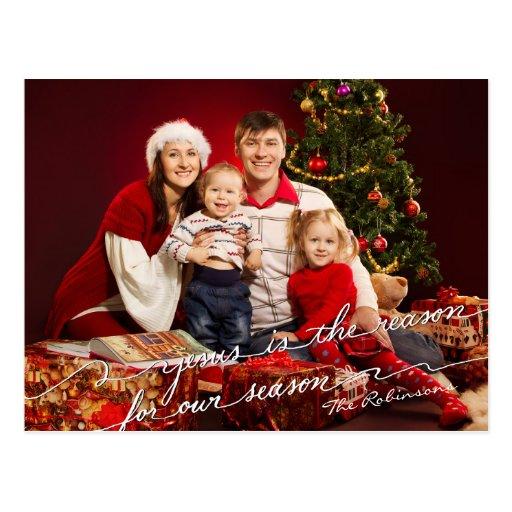 Jesús es la razón de nuestras postales de la foto