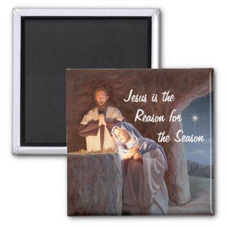 Jesús es la razón del imán de la estación