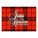 Jesús es la razón tarjetas