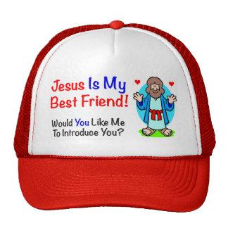 Jesús es mi gorra del mejor amigo