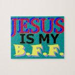 Jesús es mi rompecabezas de BFF