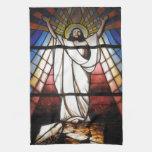 Jesús es nuestro salvador toallas