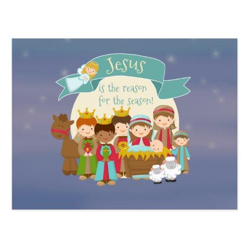 """""""Jesús es postal de la natividad de la razón"""""""